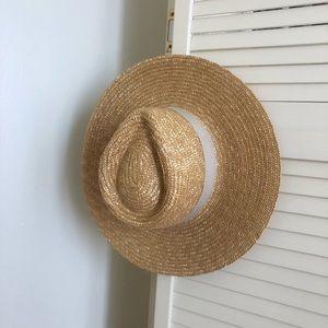 Brixton Joanna Straw Panama Hat